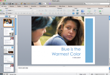 Blue is the Warmest Color — A Discussion